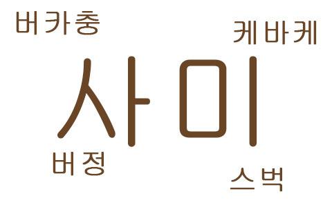 どれだけ分かりますか?韓国の略語!