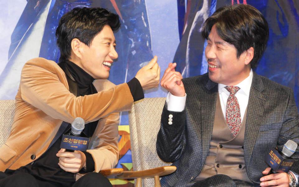 映画『朝鮮名探偵3-吸血怪魔の秘密-』制作報告会