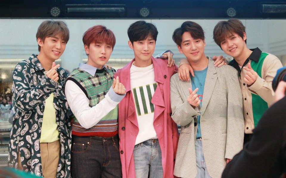 B1A4ニューシングル「会えるまで」リリースイベント