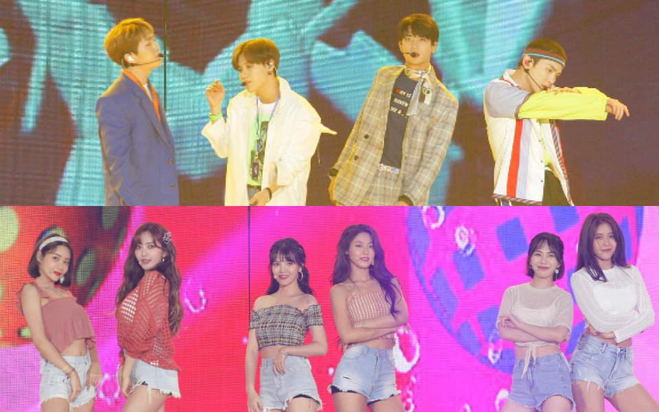 KSTAR 2018 KOREA MUSIC FESTIVAL Day2 イベント