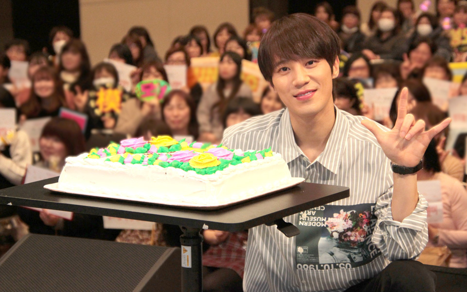 "SUNGMO JAPAN FC MEETING ""A STEP"" 囲み取材"