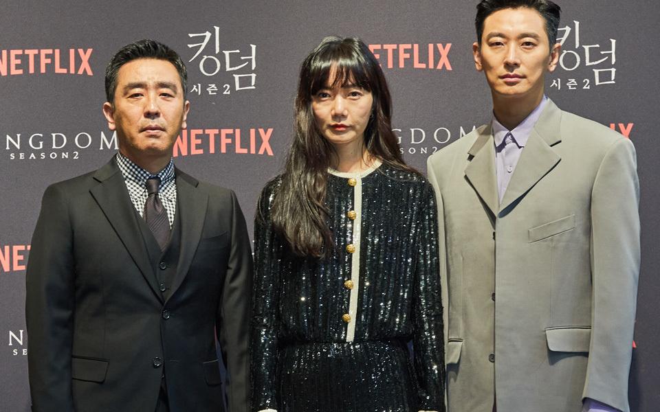 Netflixオリジナル『キングダム2』制作発表会