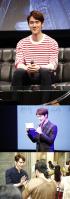 ユ・ヨンソク、初の来日ファンミーティングで感激