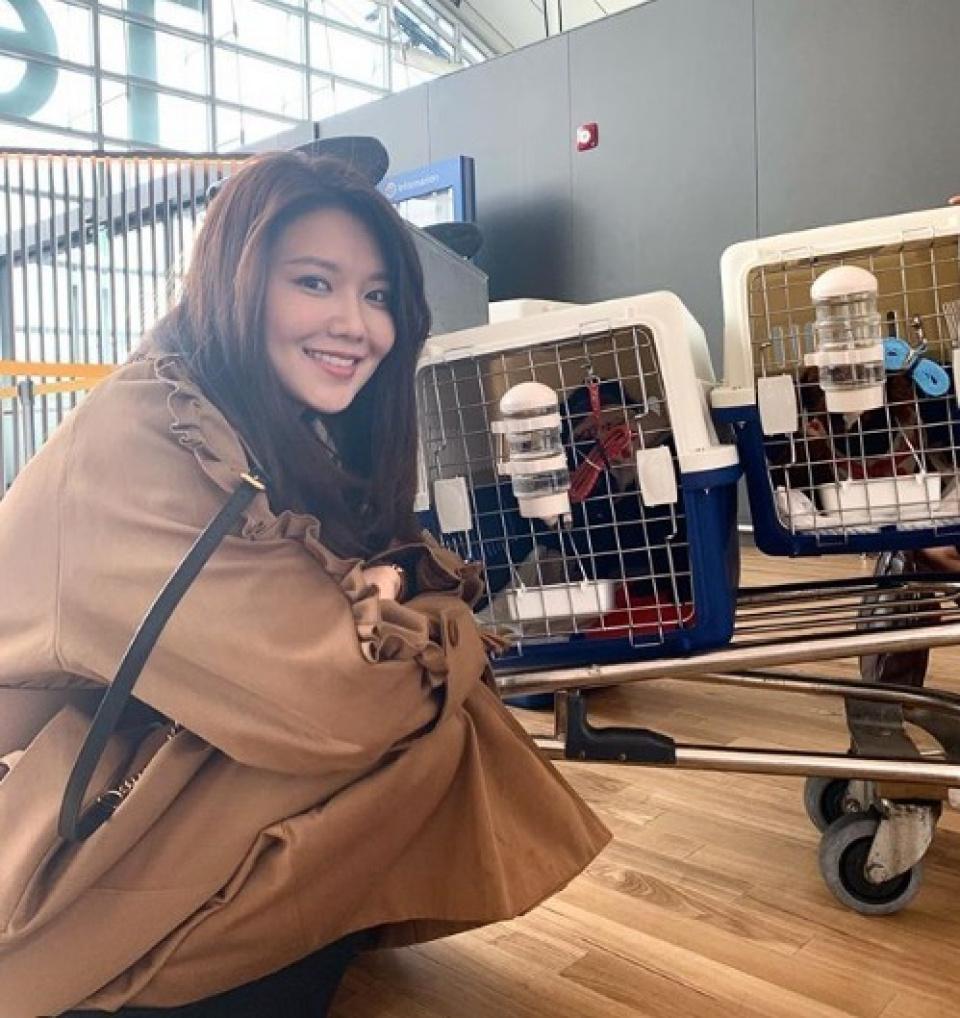 スヨン、動物保護ボランティアに参加