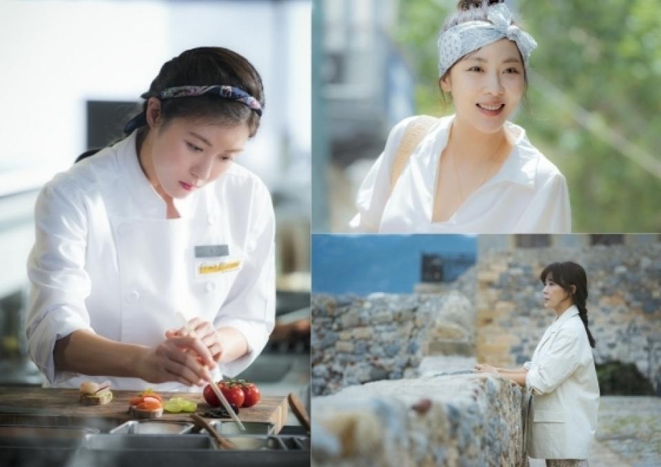『チョコレート』ハ・ジウォン 、スチールカットを公開…「撮影前から料理を学んだ」