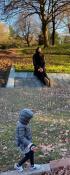 クォン・サンウ妻ソン・テヨン、マイナス気温でも娘と散歩「健康に気を付けて」